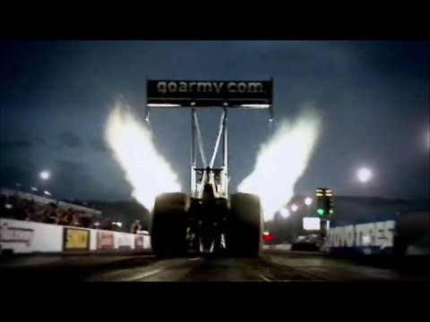 NHRA Drag Racing ~ A Radioactive Experience