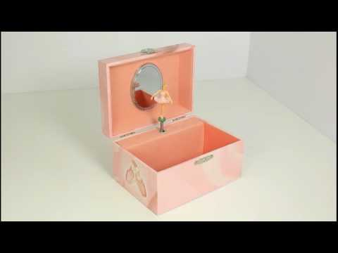 Girls Jewellery Boxes - Pink Ballerina  www.beckyandlolo.co.uk