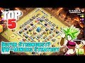 TOP5!! SUPER STRONGEST QW+MINERS DESTROY TH12 3-STAR ( Clash of Clans )