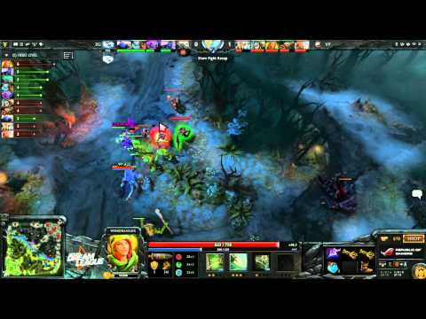 VP vs EG - DreamLeague #2 - playoffs - G1