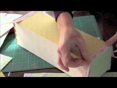 Convierte una caja de madera reciclada en un regalo para beb youtube - Cajitas de madera para decorar ...