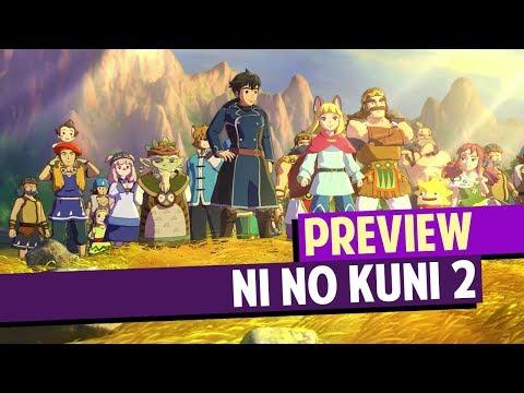NI NO KUNI 2 👑 Preview: BOSSFIGHTS