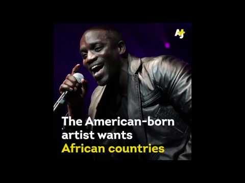 AFRICA is just a big jungle - AKON