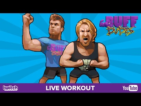 Buff Dudes Upper-body Workout | Journey for the Goblet of Gainz