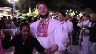 Уроки белорусских танцев в США от группы Неруш