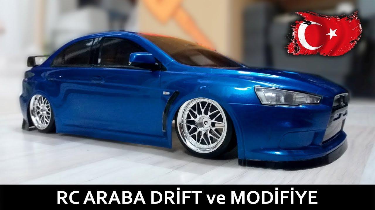 RC Araba Drift ve Modifiye - Detaylı Temizlik & Jant Değişimi - (#rcdrift)