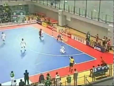 49940bafe22ae FIFA Futsal World Cup Taipei 2004  Highlights Spagna - Italia 2-1 ...