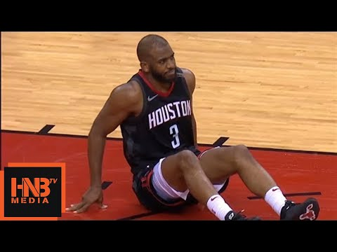 Chris Paul leg injury / Rockets vs GS Warriors Game 5
