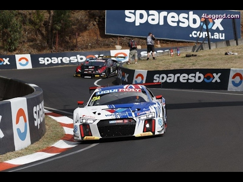 2017 Bathurst 12h (RACE)- Frank Stippler impact with his Audi R8 GT3 (RACE)