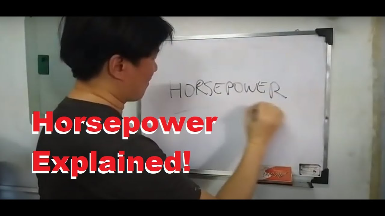 Download Horsepower Explained - Difference between HP, BHP, WHP