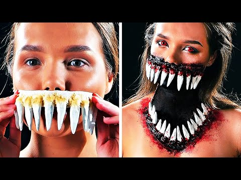 21 CREEPY MAKEUP IDEAS FOR SPECIAL OCCASIONS