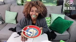 Toenail and Rice Challenge - GloZell xoxo