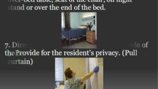 Cna Skill: Making An Occupied Bed