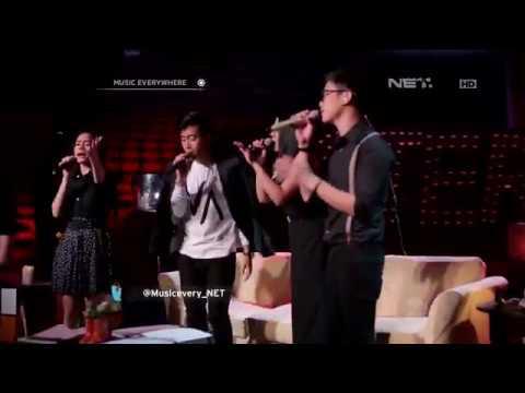 Stereo Cast  Melompat Lebih Tinggi Sheila on 7   at Music Everywhere **