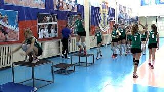 Волейбол обучение. Девушки. Тренировка прыгучести.  Часть 15