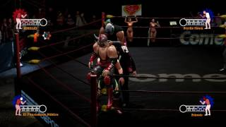 aaa heroes del ring story mode technicos ps3 ch 12
