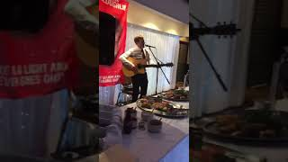Jamie Webster performs the new Virgil Van Dijk song as tribute to his recently passed friend