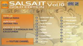 SALSA.IT VOL.10 GOLD EDITION:COMO LA MAREA,SINTONIA TRES