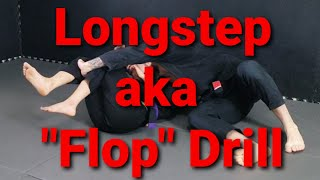 "Longstep aka ""Flop"" Passing Drill Toro BJJ Move of the Week"