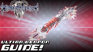 Kingdom Hearts 3 - COMPLETE GUIDE: Ultima Weapon (100% Item Synthesis, 7 Orichalcum+, Minigames)