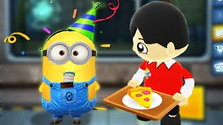 Tag with Ryan vs Partier Minion Rush - Party Time!
