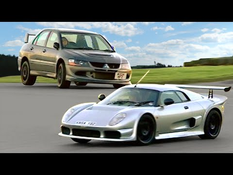 Mitsubishi Evo 8 FQ400 vs. Noble M400 #TBT – Fifth Gear