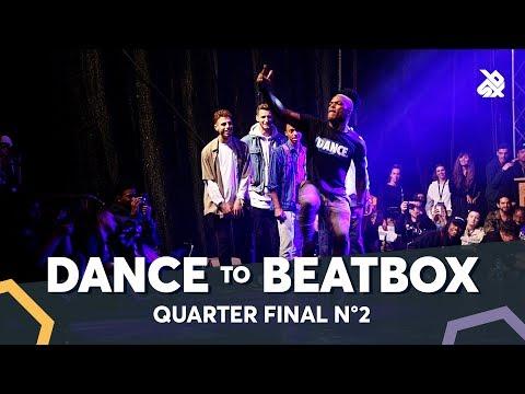 BOY MIJO vs KENZO ALVARES feat JAYTON & DHARNI  Dance Battle To The Beatbox 2018  14 Final