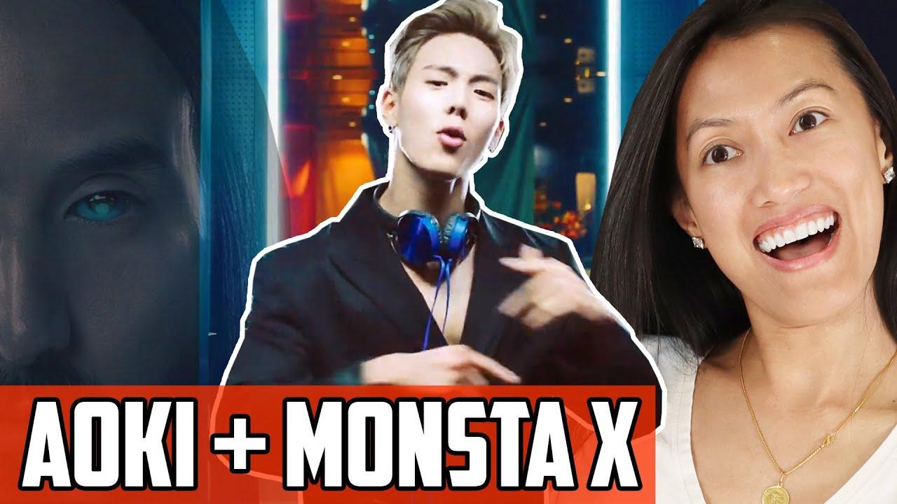 Steve Aoki Monsta X - Play It Cool MV REACTION | Unlike Any Kpop Collab You  Ever Heard!