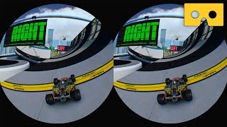 Trackmania Turbo [PS VR] - VR SBS 3D Video