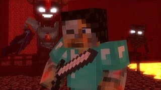 """NETHER REACHES"" - MINECRAFT PARODY OF STITCHES (TOP MINECRAFT SONG)"