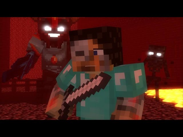 Nether Reaches Minecraft Parody Of Stitches Top Minecraft Song