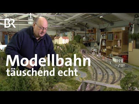 Modellbahnen von Josef Brandl: Täuschend echt | Zwischen Spessart und Karwendel | BR