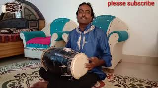 learn(7)karwa tal on dholak. lesson number