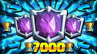 7000+ ULTIMATE CHAMPION TROPHY PUSH LIVE!!! Top 100 Ladder Clash Royale