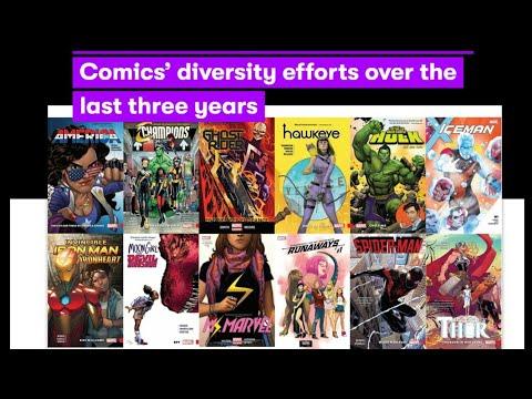 SJW Comics Pros Grade Marvel Comics On Diversity
