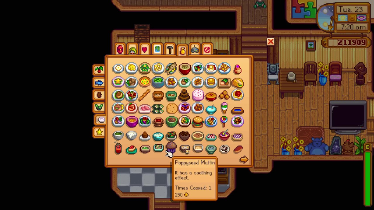stardew valley recipes