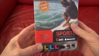 Yallstore 1080P 5M $20 Sports Cam Review