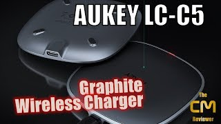 Aukey LC-C5 Test: Graphite Wireless Charger - CI Ladegerät - Hands-...