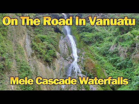On The Road In Vanuatu Day 2 - Mele Cascade Waterfalls