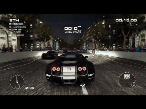 grid 2 bugatti veyron countdown gameplay xbox 360. Black Bedroom Furniture Sets. Home Design Ideas