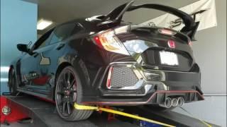 2018 Honda Civic Type R Baseline Dyno Runs