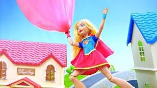 Волшебная коробка и Супергерл на шаре - Новые мультики