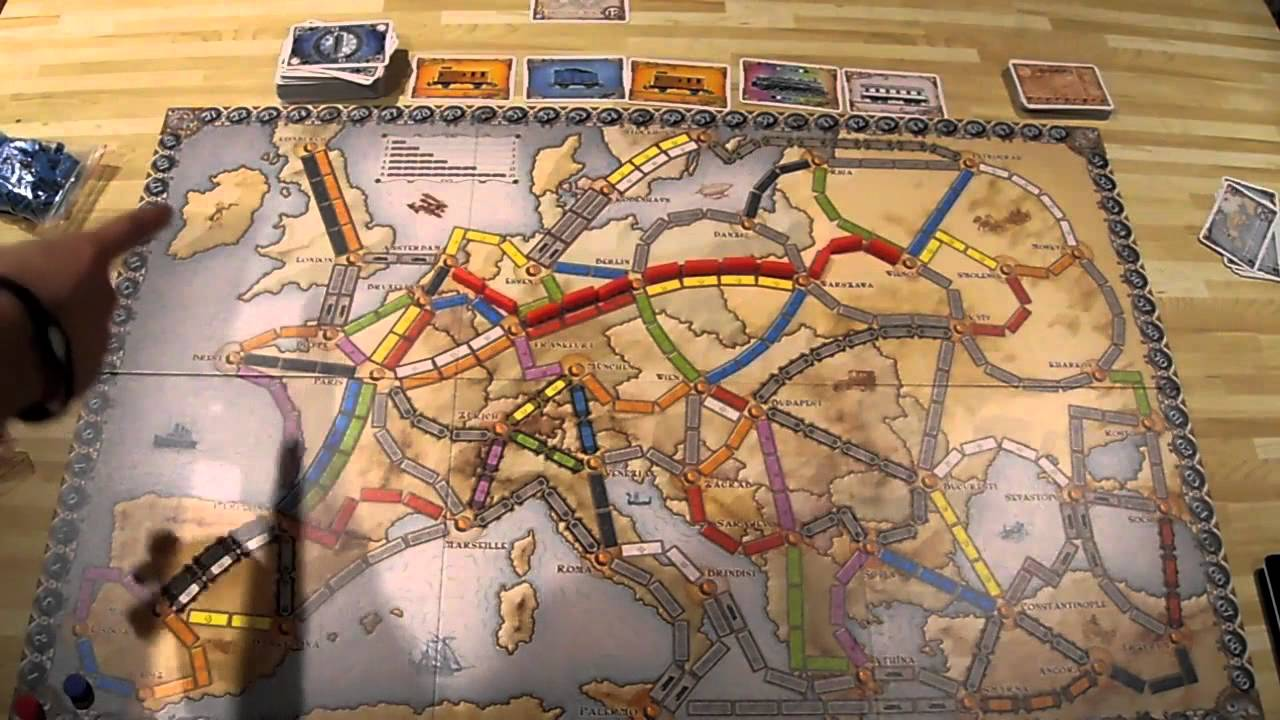 Review Ticket To Ride Europe Youtube