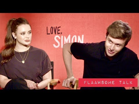 Nick Robinson & Katherine Langford On Love, Relationships, And Playing A Gay Teen In 'Love, Simon'