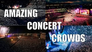 Amazing Concert Crowds