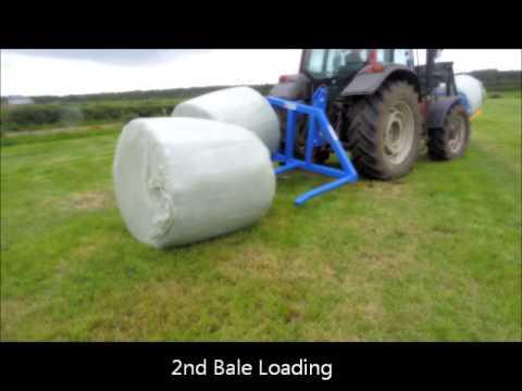 Rear Hydraulic Bale Handler
