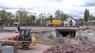spoordag 13  Assen film van het spoorwerk 28-04-2017