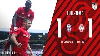 Highlights: Birmingham City 1-1 Bristol City