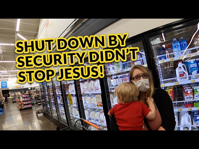 Shut Down by Security Didn't Stop Jesus!