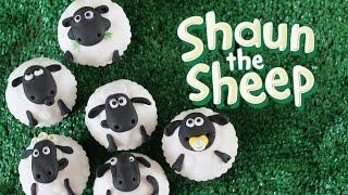 Shaun the sheep cupcakes : Aardman animation 40th anniversary
